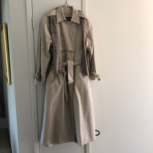 London Fog Coat, removable lining, a classic!